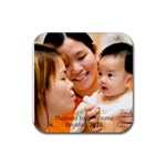 Kaowpan coaster... - Rubber Coaster (Square)