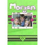 Morgan Notebook - 5.5  x 8.5  Notebook