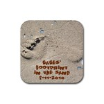 Gage coaster 2 - Rubber Coaster (Square)