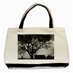 Watching Over Canvas Tote - Basic Tote Bag