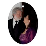 bobby and nancy - Ornament (Oval)