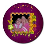 mousepad - Collage Round Mousepad