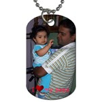 dogtag2 - Dog Tag (One Side)