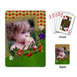 Deck of Cards (single design) Strawberry design - Playing Cards Single Design