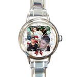 Watch for Terry - Round Italian Charm Watch