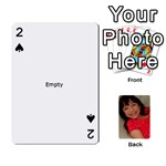 set 1 cards - Playing Cards 54 Designs (Rectangle)