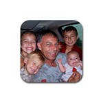 Happy Father s Day - Rubber Coaster (Square)