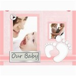 baby card - 5  x 7  Photo Cards