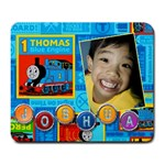 joshua n thomas - Large Mousepad