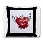 Edward loves me mouse pad - Large Mousepad