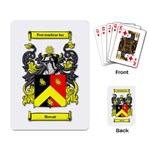 Howatt Crest/Motto Playing Cards - Playing Cards Single Design (Rectangle)