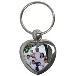 family keychain - Key Chain (Heart)