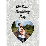 Wedding Card #1 - Greeting Card 5  x 7