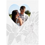 Wedding Card #2 - Greeting Card 5  x 7