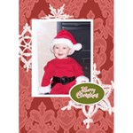 Making Spirits Bright 2 5x7 Christmas Card - Greeting Card 5  x 7