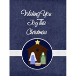 Starry Night Christmas Card - Greeting Card 4.5  x 6