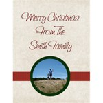 Starry Night Christmas/Year in Review Card - Greeting Card 4.5  x 6