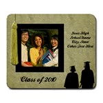 Graduation Photo Mousepad, One Photo - Large Mousepad
