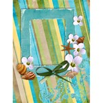 4x6 Tropical card template - Greeting Card 4.5  x 6