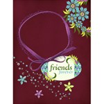 4x6 Friends Forever card template - Greeting Card 4.5  x 6