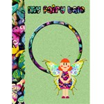 "MY FAIRY TALE green -  4.5"" x 6"" Greeting Cards - Greeting Card 4.5  x 6"