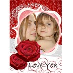 Love you - Greeting Card 5  x 7