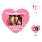 Sisters Heart Playing Cards - Playing Cards (Heart)