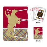 Playing Card- cowboy template - Playing Cards Single Design (Rectangle)