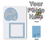 ALPHA MEMORY GAME  -  cards - Playing Cards 54 Designs (Rectangle)