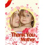 mother love - Greeting Card 4.5  x 6