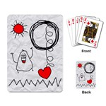 garabatos cards - Playing Cards Single Design