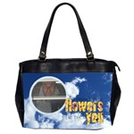 Clouds Friends Oversized Handbag - Oversize Office Handbag (2 Sides)