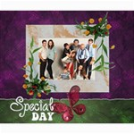 SPECIAL DAY - CANVAS 20X24  - Canvas 20  x 24