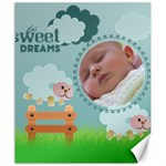 sweet dreams - CANVAS 20X24  - Canvas 20  x 24