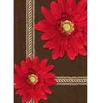 Red Daisies Blank Card - Greeting Card 5  x 7