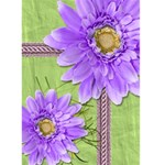 Purple Daisies Blank Card - Greeting Card 5  x 7