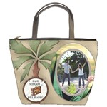 Tropical Travel Bucket Bag