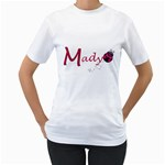 mady big sister  - Women s T-Shirt (White) (Two Sided)