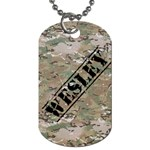 Wesleys dog tag - Dog Tag (One Side)