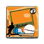 I love baseball - Memory card reader - Memory Card Reader (Square 5 Slot)