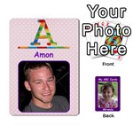 ABC Family Cards for Miranda - Playing Cards 54 Designs (Rectangle)
