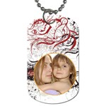 pattern  tag - Dog Tag (Two Sides)