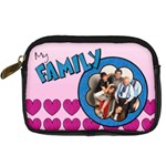 My family - Camera Leather Case   - Digital Camera Leather Case