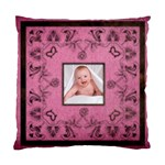 Pink Art Nuveau cushion - Standard Cushion Case (Two Sides)