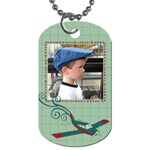 Airplane Dog Tags - Dog Tag (Two Sides)