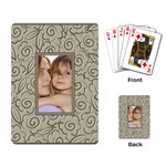 Pattern Frame - Playing Cards Single Design
