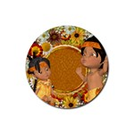 Thanksgiving 11 - Rubber Coaster (Round)