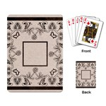 art nouveau beige playing cards - Playing Cards Single Design (Rectangle)