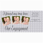 engagement announcement - 4  x 8  Photo Cards