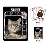 I Love My Cat Playing Cards - Playing Cards Single Design (Rectangle)